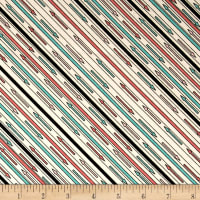 Riverwoods Glamping Gypsies Stripe White