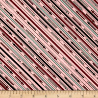 Riverwoods Glamping Gypsies Stripe Pink
