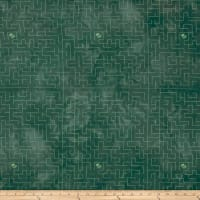 Riverwoods Rainforest Geo Dark Green
