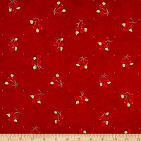 Riverwoods Vintage Vogue Laundry Cherries Red