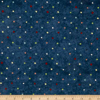 Riverwoods Vintage Vogue Laundry Dots Navy