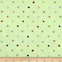Riverwoods Vintage Vogue Laundry Dots Green