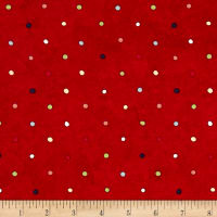 Riverwoods Vintage Vogue Laundry Dots Red