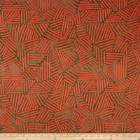 Riverwoods Great Wall Abstract Orange/Grey