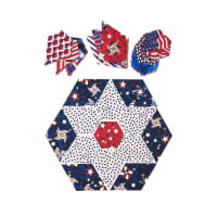 "Fabric.com Patriotic Jewel Star 32"" Kit Multi - Exclusive"