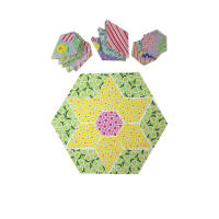 "Fabric.com Easter Jewel Star 32"" Kit Multi - Exclusive"