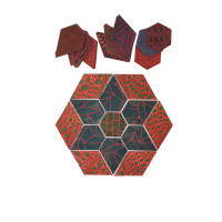 "Fabric.com Great Wall Jewel Star 32"" Kit Multi - Exclusive"