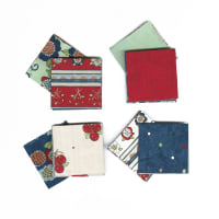 "Fabric.com Vintage Vogue Laundry 2.5"" Square Precut Multi - Exclusive"