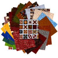 "Fabric.com Quilt Trails 10"" Square Precut Multi - Exclusive"