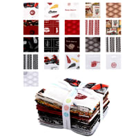 Riley Blake Indian Motorcycle Fat Quarter Bundle 18 Pcs Multi