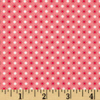 Riley Blake Autumn Love Polka Dots Pink