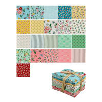Penny Rose Mon Beau Jardin Fat Quarter Bundle 21 Pcs Multi