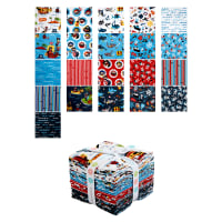 Riley Blake Pirates Life Fat Quarter Bundle 21 Pcs Multi