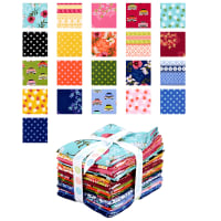Riley Blake Club Havana Fat Quarter Bundle 21 Pcs Multi