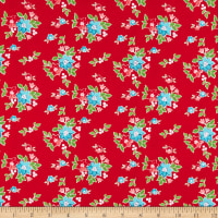 Riley Blake Seaside Floral Red