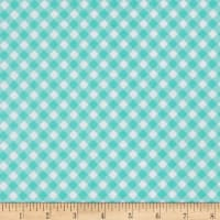 Riley Blake Seaside Gingham Aqua