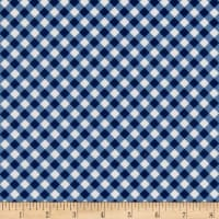 Riley Blake Seaside Gingham Navy
