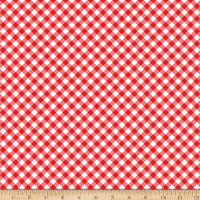 Riley Blake Seaside Gingham Red