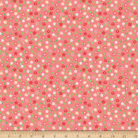 Riley Blake Vintage Adventure Tiny Floral Pink