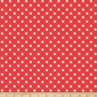 Riley Blake Vintage Adventure Trellis Red