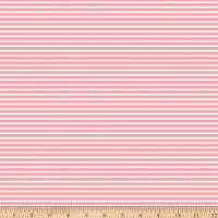 Riley Blake Vintage Adventure Stripe Pink