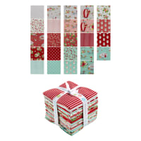 Riley Blake Vintage Adventure Fat Quarter Bundle 24 Pcs Multi
