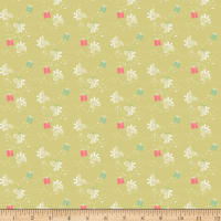 Riley Blake Winter Tales Gift Green