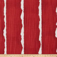 Scott Living Canal Luxe Linen Basketweave Vermillion