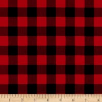 Riley Blake Christmas Delivery Plaid Red