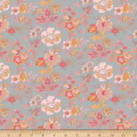 Penny Rose Floral Hues Main Gray