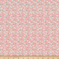 Penny Rose Floral Hues Leaves Pink