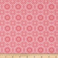 Riley Blake Hello Lovely Medallion Pink