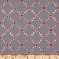 Riley Blake Hello Lovely Diamond Floral Gray