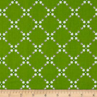 Riley Blake Hello Lovely Diamond Floral Green