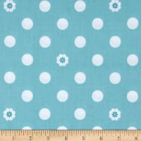 Riley Blake Hello Lovely Dots Aqua
