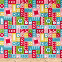 Riley Blake Hello Lovely Geometric Quilt Multi