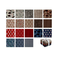 Riley Blake High Adventure 2 Fat Quarter Bundle 18 Pcs. Multi