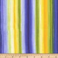 Timeless Treasures Angelica Watercolor Stripe Bright