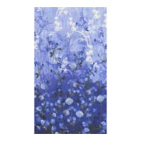 "Timeless Treasures Fields Of Blue Dandelion Field 24"" Panel Azure"