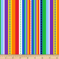 Timeless Treasures Two By Two Stripe Multi