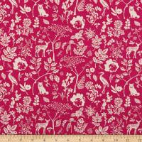 Art Gallery Fabrics Flora and Fauna Milieu Magenta