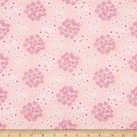 Art Gallery Fabrics Lacey Star Dust Pink
