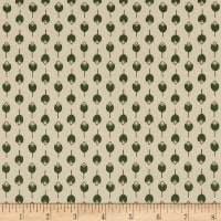 Art Gallery Fabrics Tender Arrangement Green