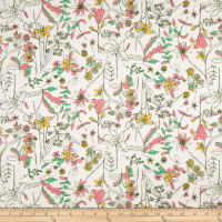 Art Gallery Fabrics Untamed Beauty Daybreak Pink