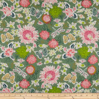 Art Gallery Fabrics Small World Sprightly Sage