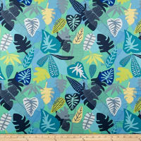 Art Gallery Sirena Jungle Tropicale Teal