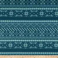 Art Gallery Fabrics Fall in Love Serene Dusty Blue