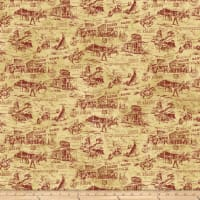 Pony Express Scenic Red