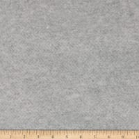 Telio Portland Herringbone French Terry Fleece Knit Light Grey