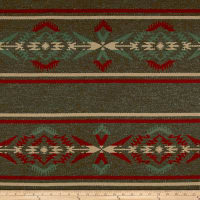 Ralph Lauren Home Arrowhead Stripe Melton Wool Earth